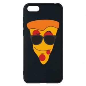 Etui na Huawei Y5 2018 Pizza with glasses