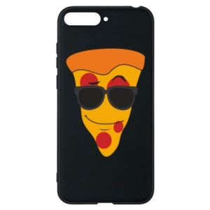 Etui na Huawei Y6 2018 Pizza with glasses