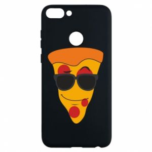 Etui na Huawei P Smart Pizza with glasses