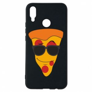 Etui na Huawei P Smart Plus Pizza with glasses