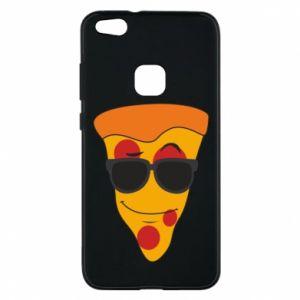 Etui na Huawei P10 Lite Pizza with glasses