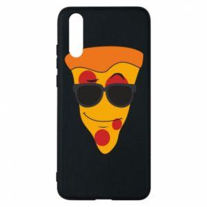 Etui na Huawei P20 Pizza with glasses