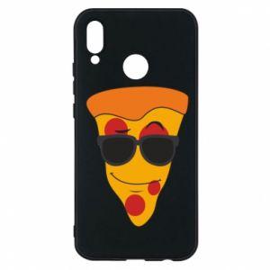 Etui na Huawei P20 Lite Pizza with glasses