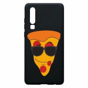 Etui na Huawei P30 Pizza with glasses