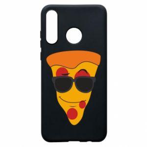 Etui na Huawei P30 Lite Pizza with glasses