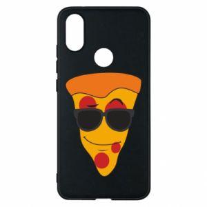 Etui na Xiaomi Mi A2 Pizza with glasses