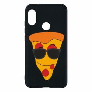 Etui na Mi A2 Lite Pizza with glasses