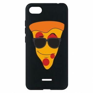 Etui na Xiaomi Redmi 6A Pizza with glasses