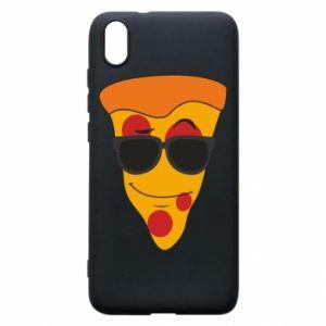 Etui na Xiaomi Redmi 7A Pizza with glasses