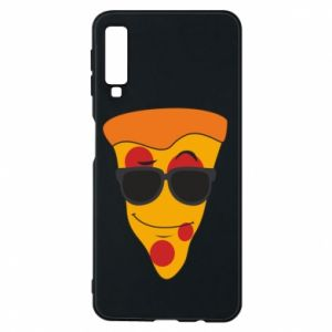 Etui na Samsung A7 2018 Pizza with glasses