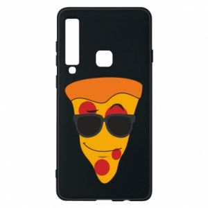 Etui na Samsung A9 2018 Pizza with glasses