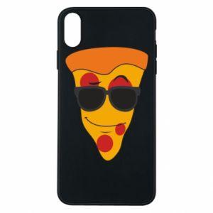 Etui na iPhone Xs Max Pizza with glasses