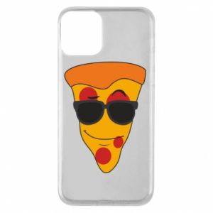 Etui na iPhone 11 Pizza with glasses