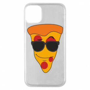 Etui na iPhone 11 Pro Pizza with glasses