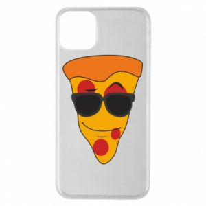 Etui na iPhone 11 Pro Max Pizza with glasses