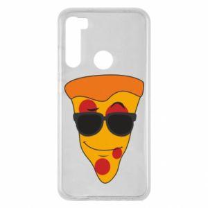 Etui na Xiaomi Redmi Note 8 Pizza with glasses