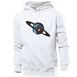 Men's hoodie Planet in space