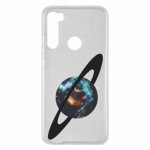 Xiaomi Redmi Note 8 Case Planet in space