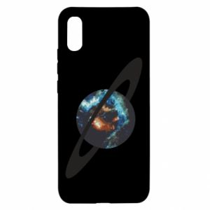 Xiaomi Redmi 9a Case Planet in space