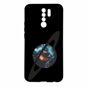 Xiaomi Redmi 9 Case Planet in space