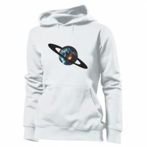 Women's hoodies Planet in space