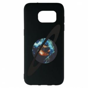 Samsung S7 EDGE Case Planet in space