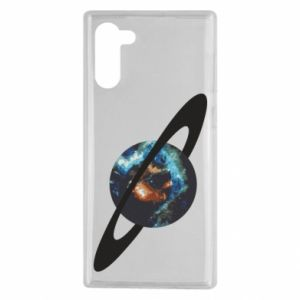 Samsung Note 10 Case Planet in space