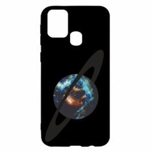 Samsung M31 Case Planet in space