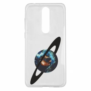Nokia 5.1 Plus Case Planet in space