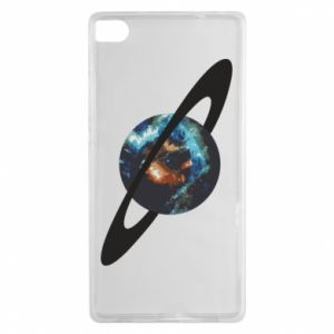 Huawei P8 Case Planet in space