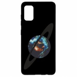 Samsung A41 Case Planet in space
