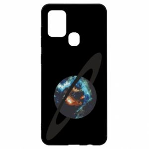 Samsung A21s Case Planet in space