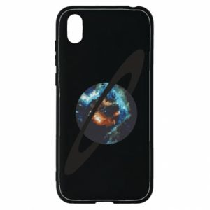 Huawei Y5 2019 Case Planet in space