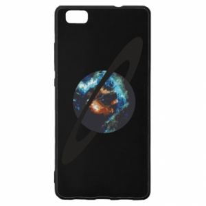 Huawei P8 Lite Case Planet in space