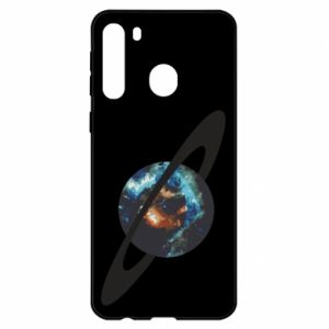 Etui na Samsung A21 Planeta w kosmosie