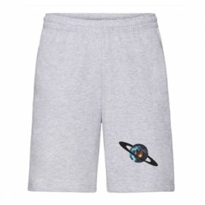 Men's shorts Planet in space