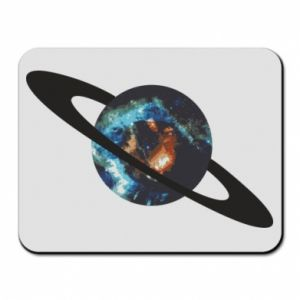Mouse pad Planet in space