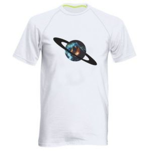 Men's sports t-shirt Planet in space