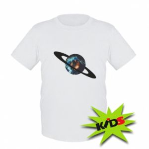 Kids T-shirt Planet in space