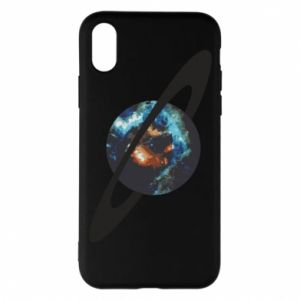 iPhone X/Xs Case Planet in space