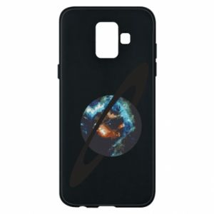 Samsung A6 2018 Case Planet in space