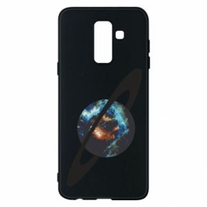 Samsung A6+ 2018 Case Planet in space