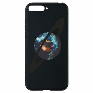 Huawei Y6 2018 Case Planet in space