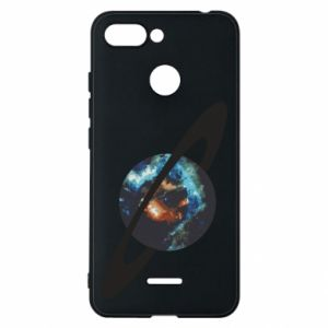 Xiaomi Redmi 6 Case Planet in space