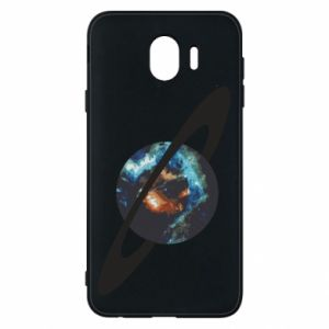 Samsung J4 Case Planet in space