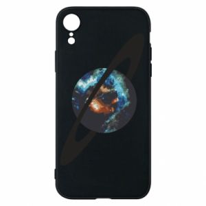 iPhone XR Case Planet in space
