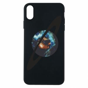 iPhone Xs Max Case Planet in space
