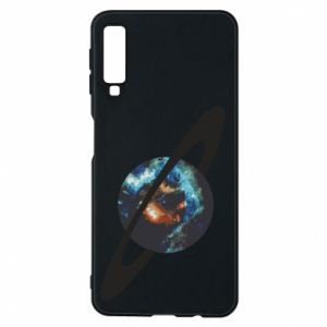 Samsung A7 2018 Case Planet in space