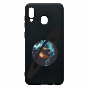 Samsung A30 Case Planet in space