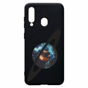 Samsung A60 Case Planet in space